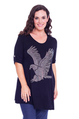 1316 Black Eagle Stud Top