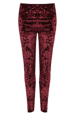 Full Length Velvet Leggings