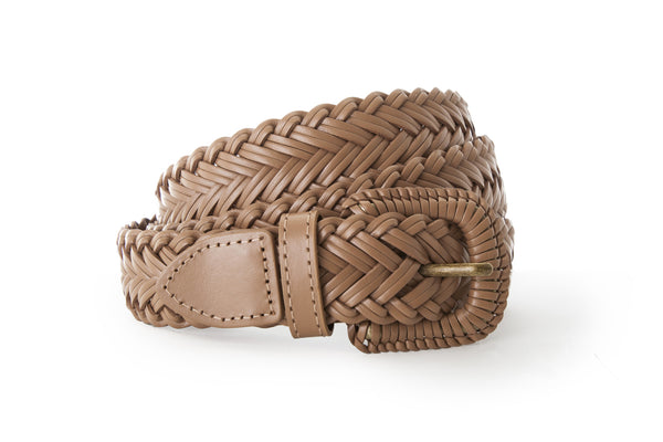 Plain Braided Belt