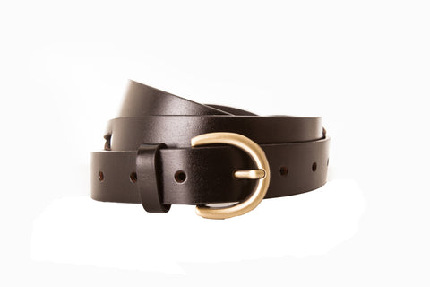 Criss Cross Faux Leather Belt