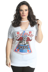 Choker Neck Legendary Racer Top