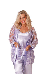 3 in 1 Satin Nightsuit