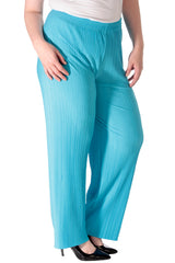 Plain Pleated Trousers