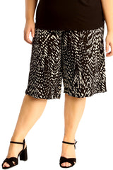 Abstract Print Culottes