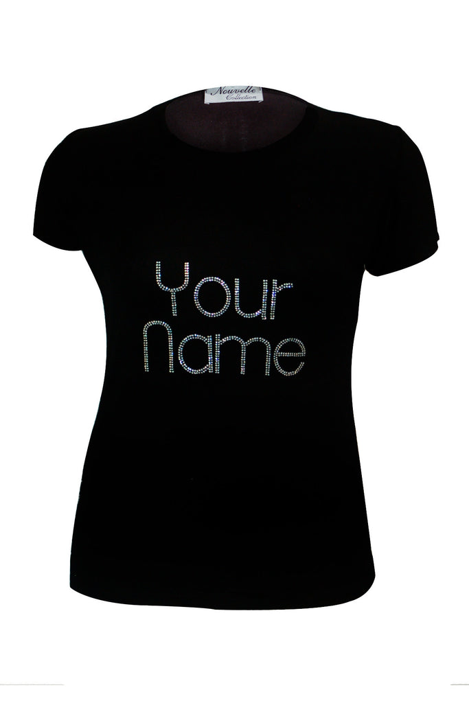 1244 Black Custom Stud Shirt