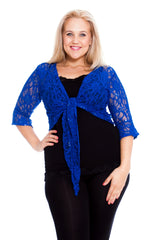 Sequin Lace Shrug