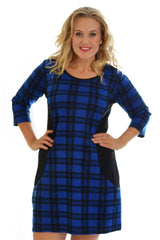Tartan Bodycon Dress