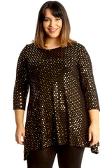 Dot Foil Swing Top