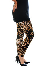 Abstract Print Leggings