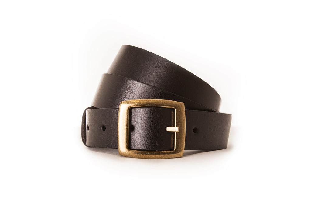 4018 Black Original Leather Belt