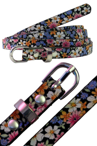 Floral Waist And Hip Belt