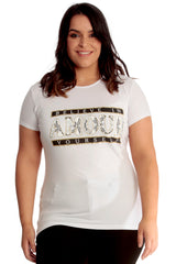 Amour Print T-Shirt