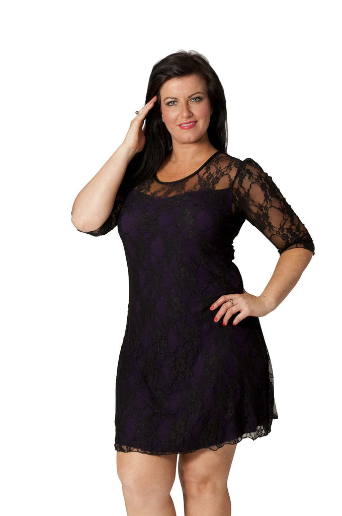 2016 Black Sexy Signature Lace Dress