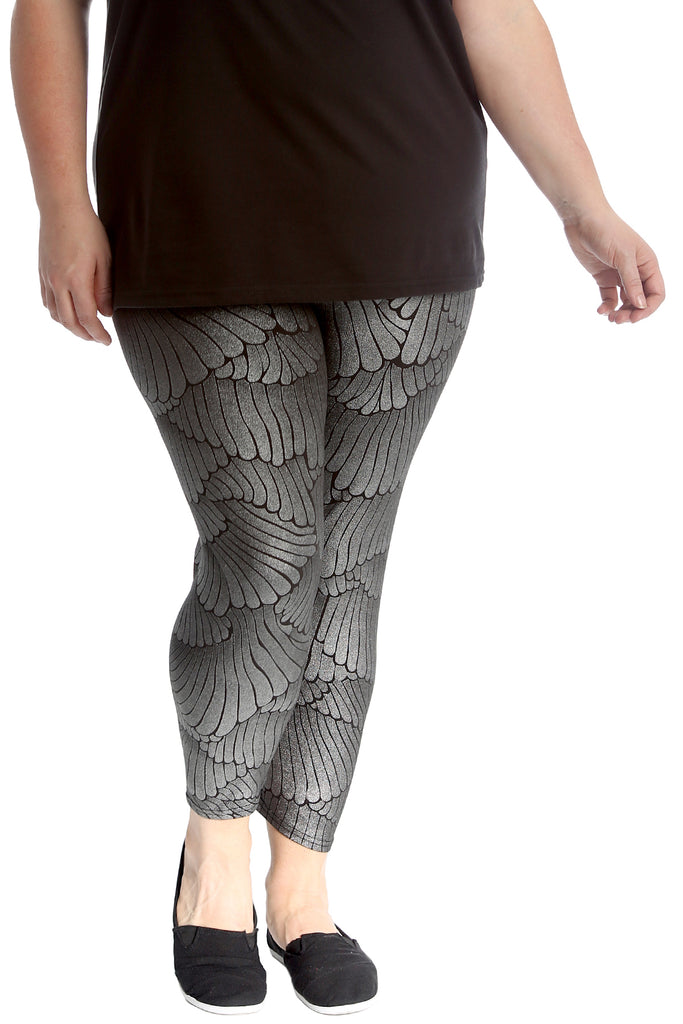 Wings Disco Fabric Leggings