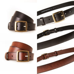 4018 Montage Plain Oroginal Leather Belt