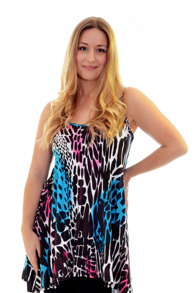 Abstract Print Tank Top