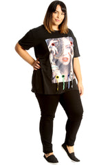 Applique Loops T-Shirt