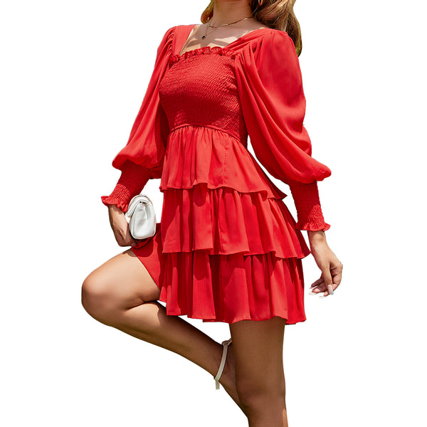 Exlura Imitation Real Fur Lapel Coat With Belt