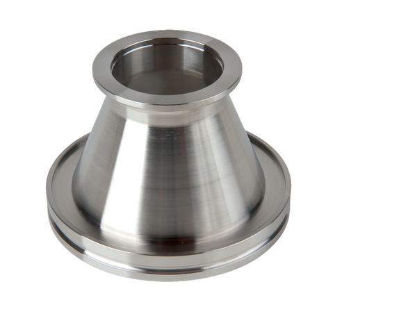 Conical Adapter, DN 63 ISO-KDN 63 ISO-K/25 KF, stainlesssteel, l=63 mm Part No. 320RRK063-025-63