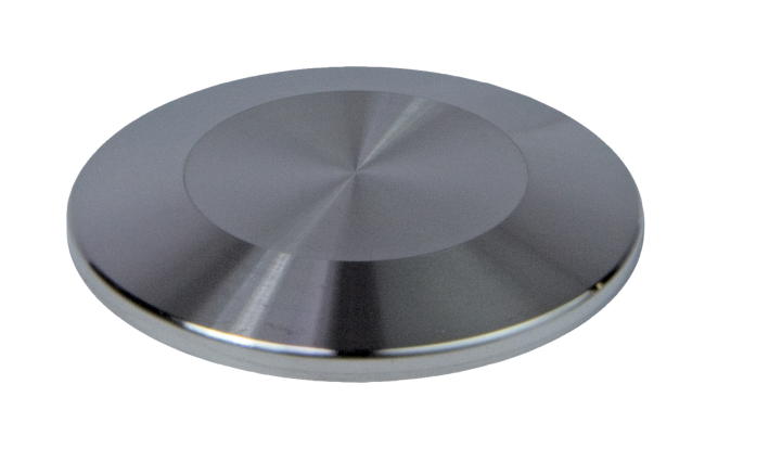 Blank Flange, DN 50 ISO-KF Stainless Steel 304/1.4301