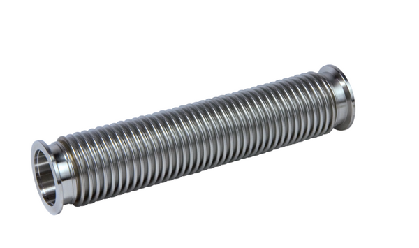 Corrugated Hose, DN 25 ISO-KF Stainless steel, flexible, length 750 mm Part No. 120SWN025-0750