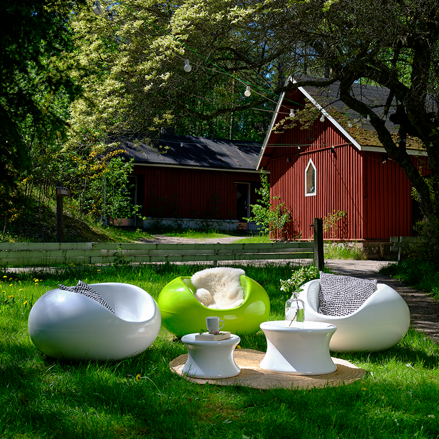 Icons for outdoor living