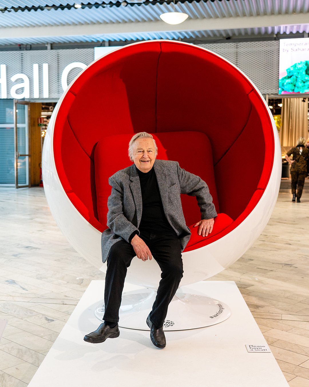 The Giant Ball Chair