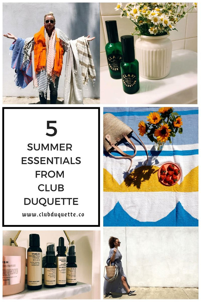 SUMMER ESSENTIALS: Sunshine, The Promise of Adventure + Lowering Your Expectations