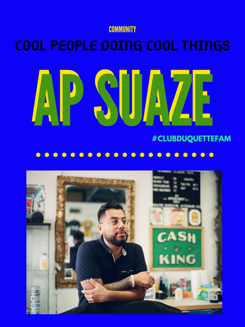 "COMMUNITY: Introducing ""COOL PEOPLE DOING COOL THINGS"" and AP SUAZE"