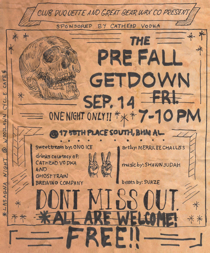 IT'S PARTY TIME! The PREFALL GETDOWN is Friday 9/14