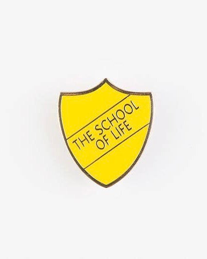 The School of Life Pin