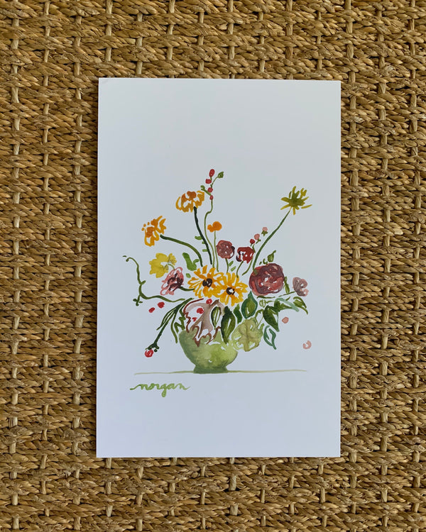Small Florals No. 3 Fine Art Print