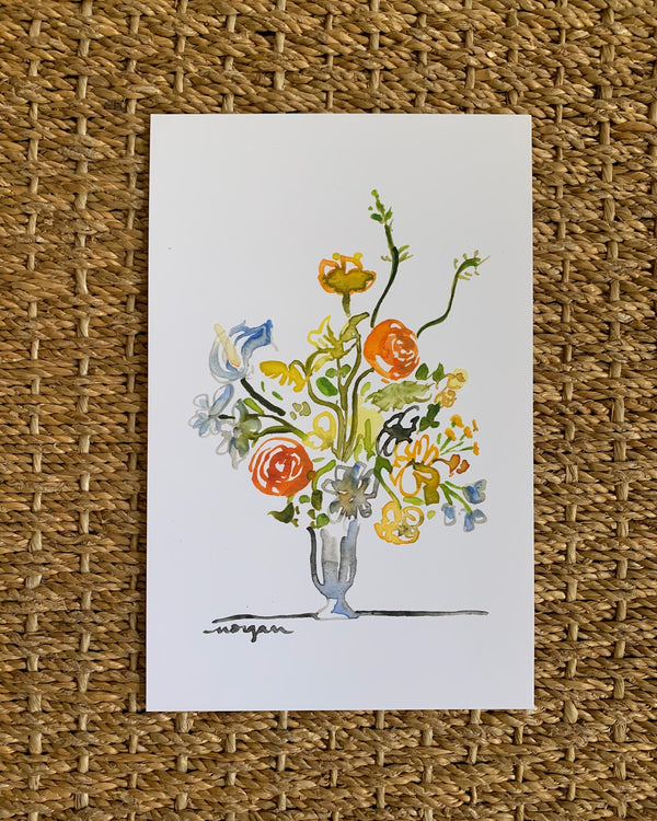 Small Florals No. 1 Fine Art Print