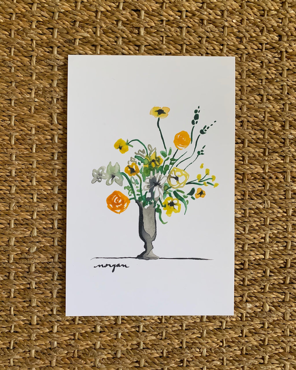 Small Florals No. 4 Fine Art Print