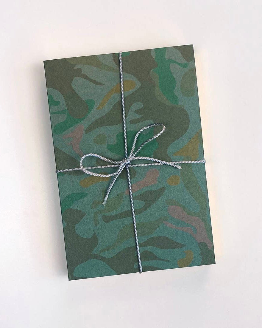 Camo Jotter Notebooks