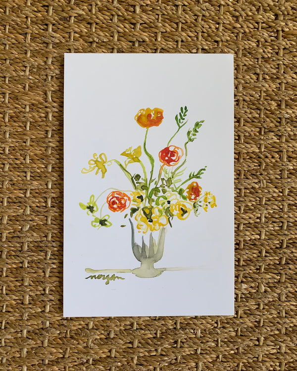 Small Florals No. 2 Fine Art Print