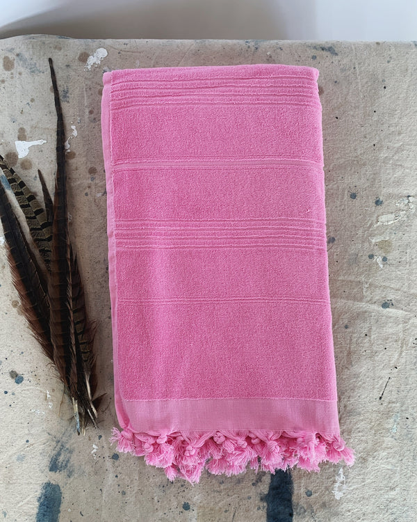 Premium Turkish Terry Peshtemal Towel