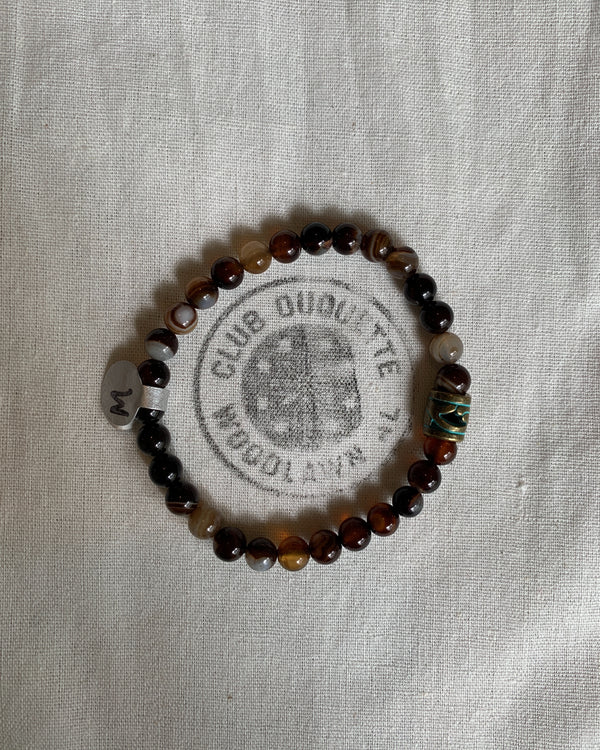Club Duquette Bracelet: Bright Green Jasper