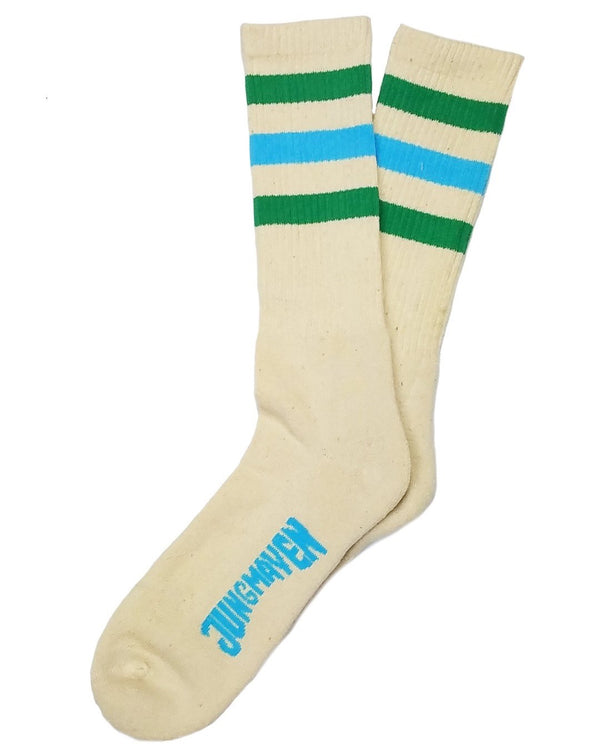 Town and Country Socks Kelly Green/Pool