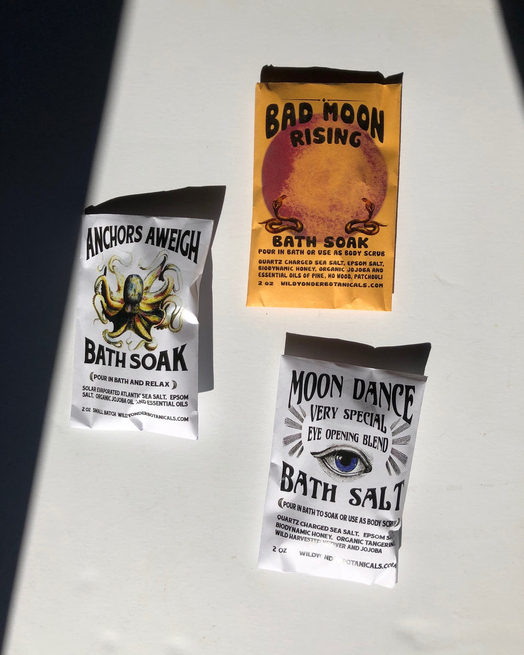 Moon Dance Bath Salt Packet