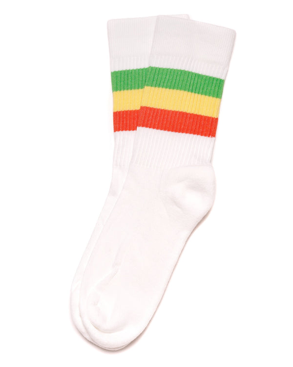 The Sol Sock White