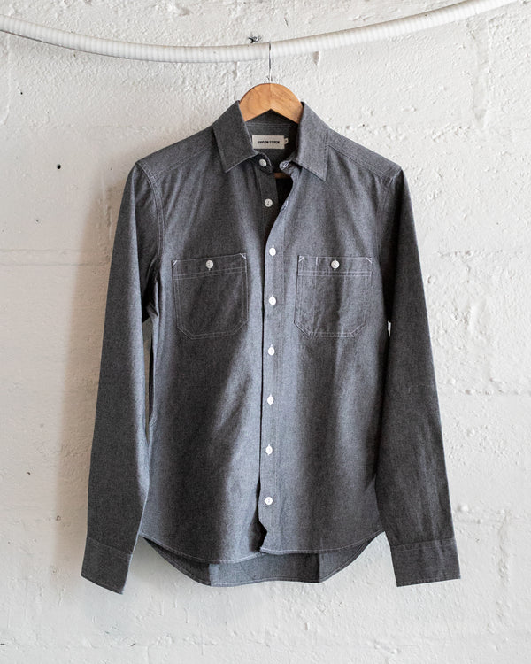 California in Charcoal Chambray