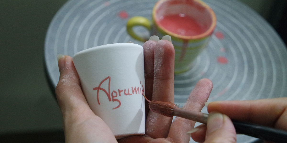 Italian-ceramics-hand-made-hand-painted - Agrumia