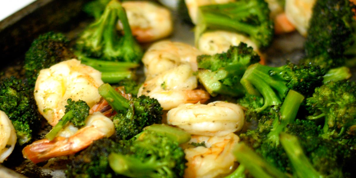Agrumia blog recipe shrimp and broccoli cream - Agrumia