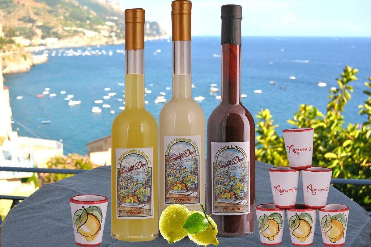 Limoncello from the Amalfi Coast