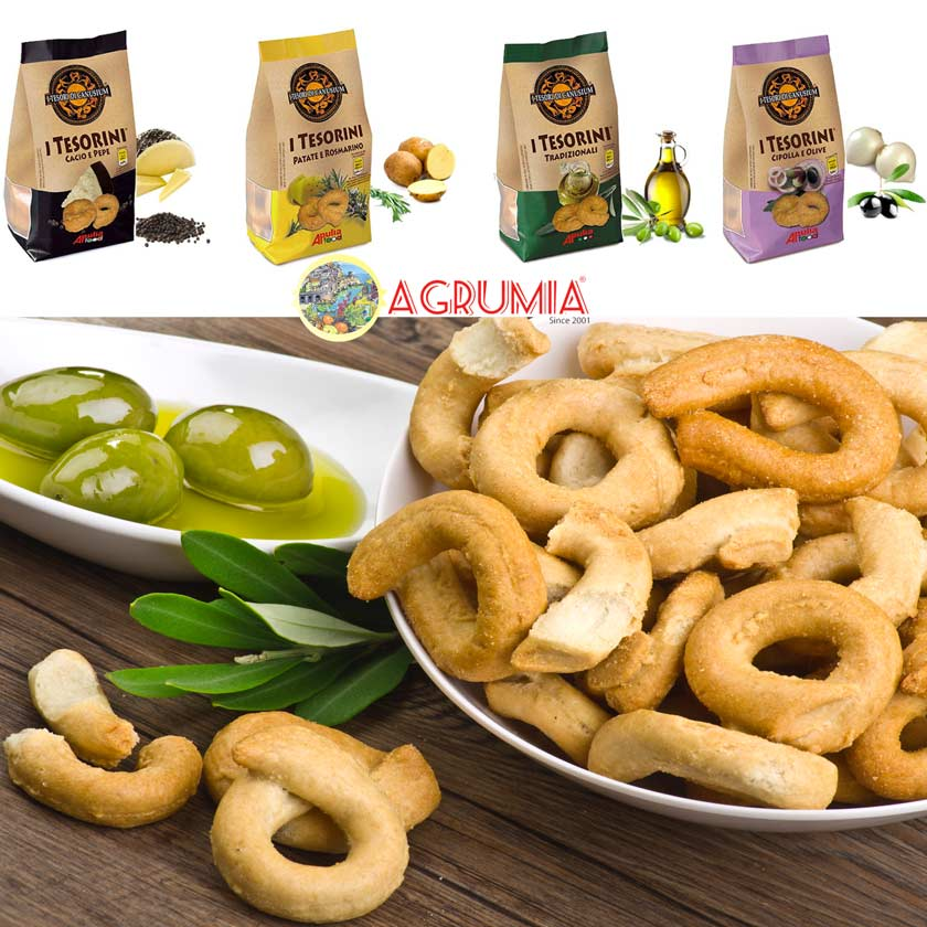 Tesorini Taralli from Puglia by Agrumia