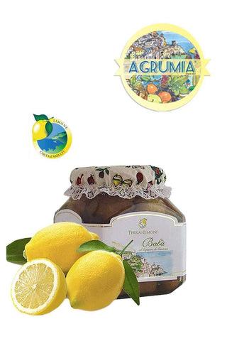 Baba with Limoncello 700g - Agrumia