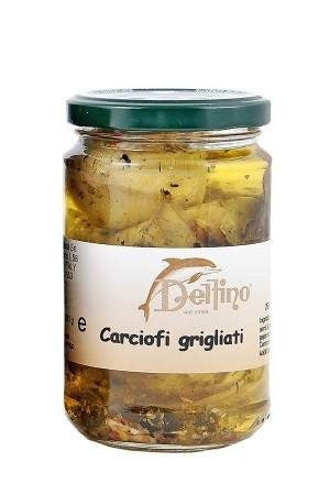 Grilled Artichokes in Oil 314g for £4.80 at Agrumia