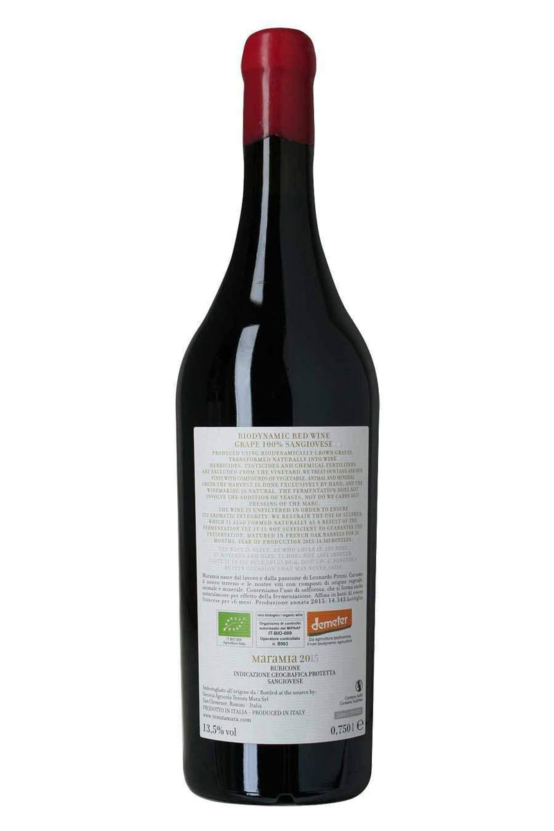 MARAMIA 2015 Biodynamic Wine 75cl