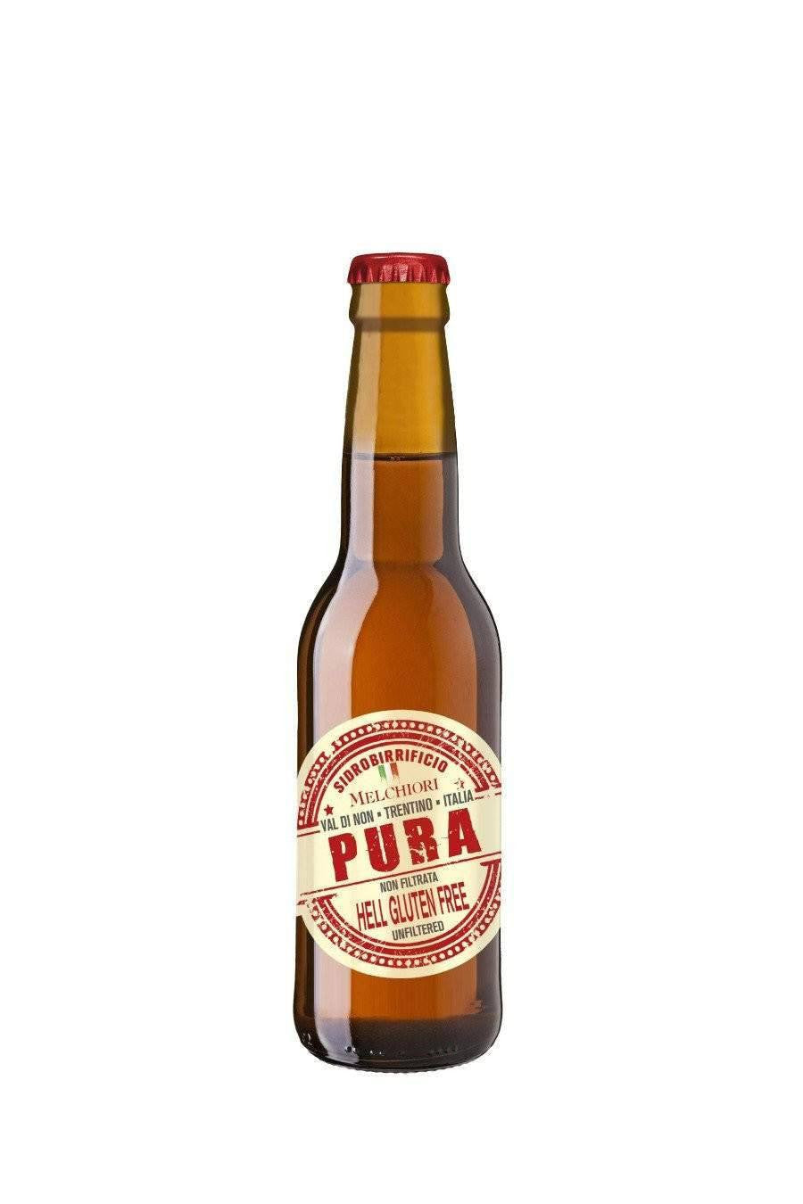 Pura Gluten Free Italian craft beer 330ml - Agrumia